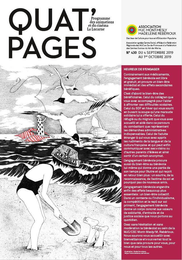 Quat Pages septembre 2019