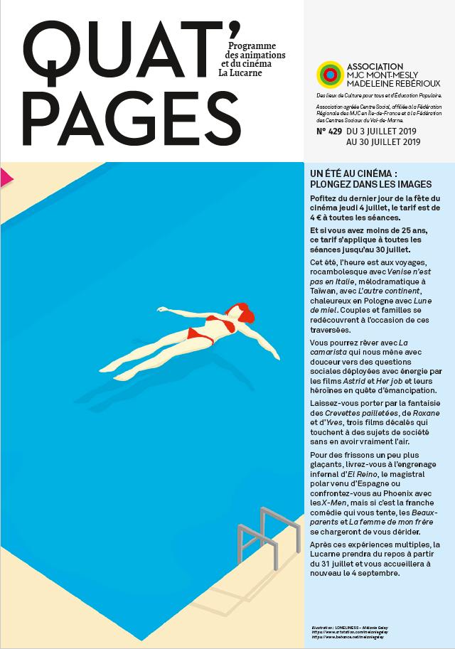 Quat'Pages juillet 2019