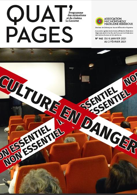 Quat'Pages janvier 2021
