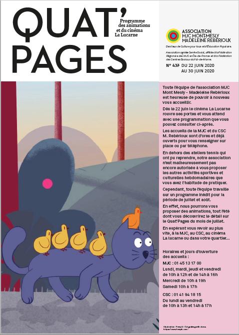 Quat'Pages Juin 2020